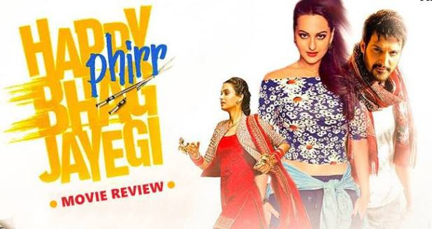 Review: Happy Phirr Bhag Jayegi is a mixture of punjabi and chinese humour with outrageous comedy