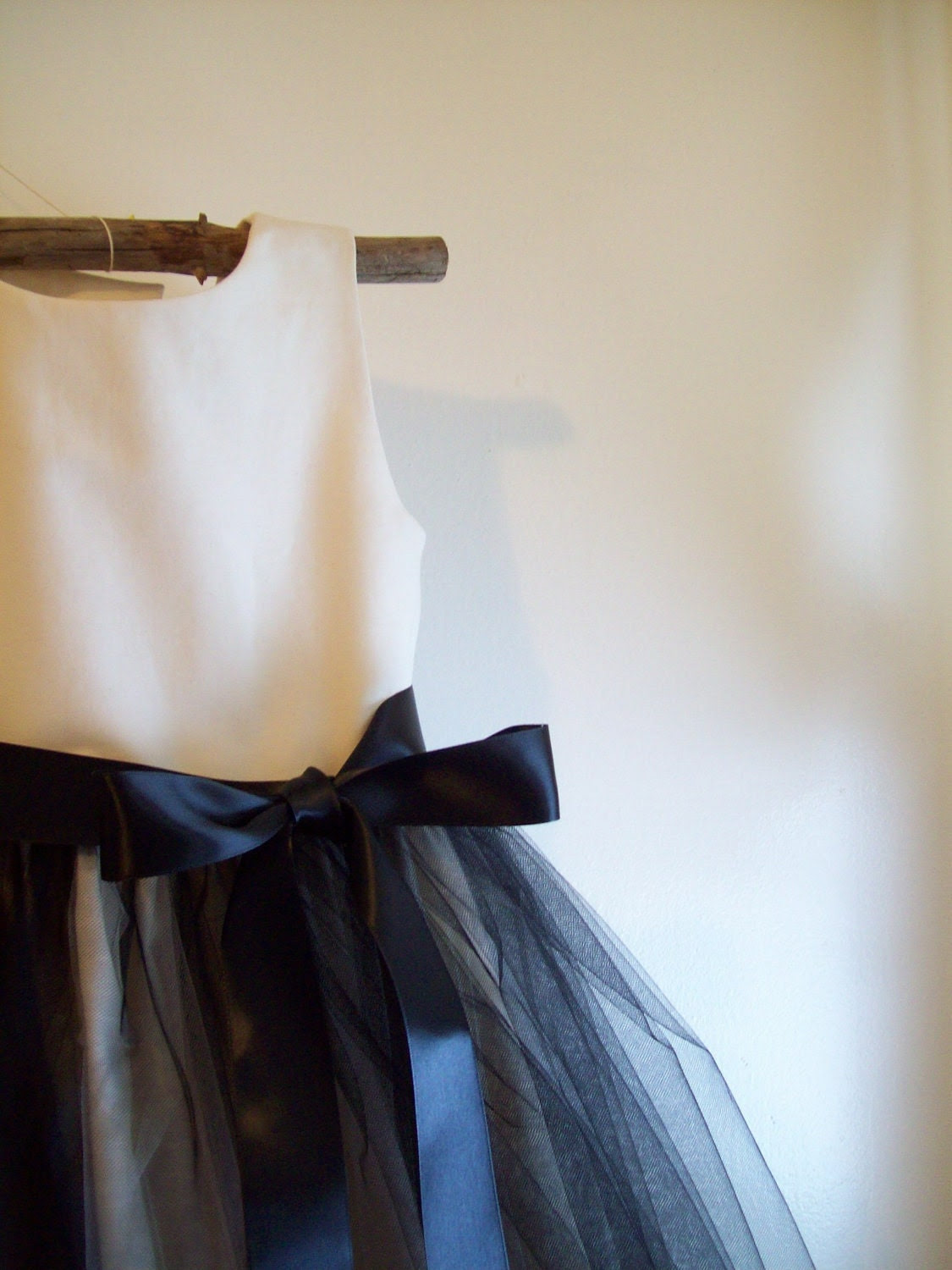 I Wonder. . . Flower Girl Dress ... Organic USA 100% cotton ..Made to Order ..Sizes 6,7,8 and up