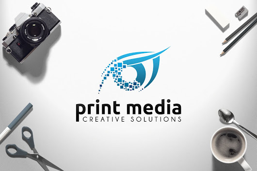 Print Media Logo by vasaki on Envato Elements