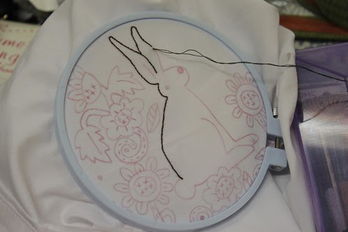 Embroidery afternoon 19 February 2011