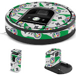 MightySkins IRRO960-Retro Controllers 1 Skin for iRobot Roomba 960 Robot Vacuum Retro Controllers 1
