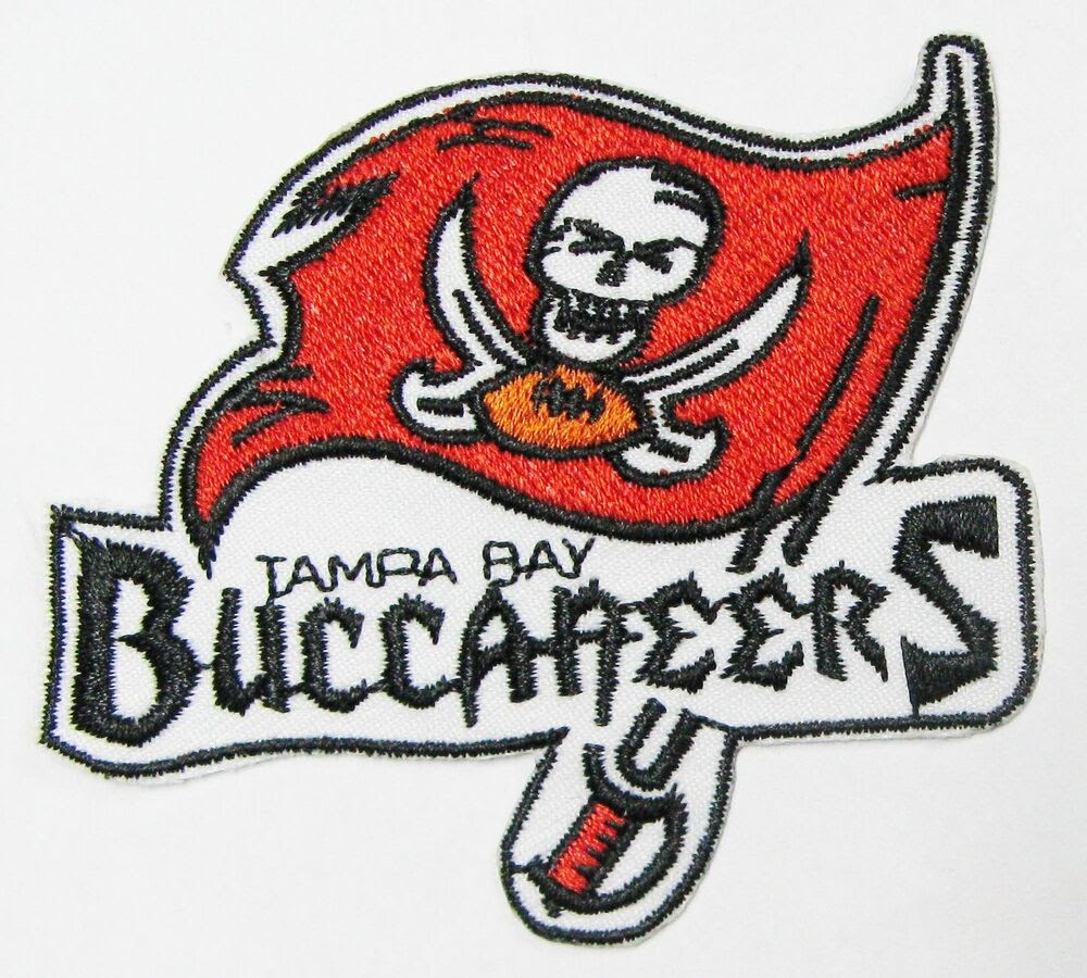 LOT OF 1 NFL TAMPA BAY BUCCANEERS PATCH PATCHES IRONON LOGO B ITEM  20  eBay
