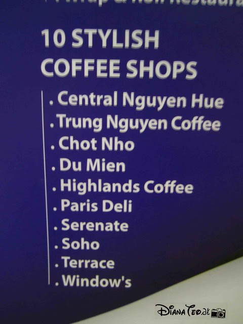 Day 6 - Ho Chi Minh City - Top 10 Coffee Shops