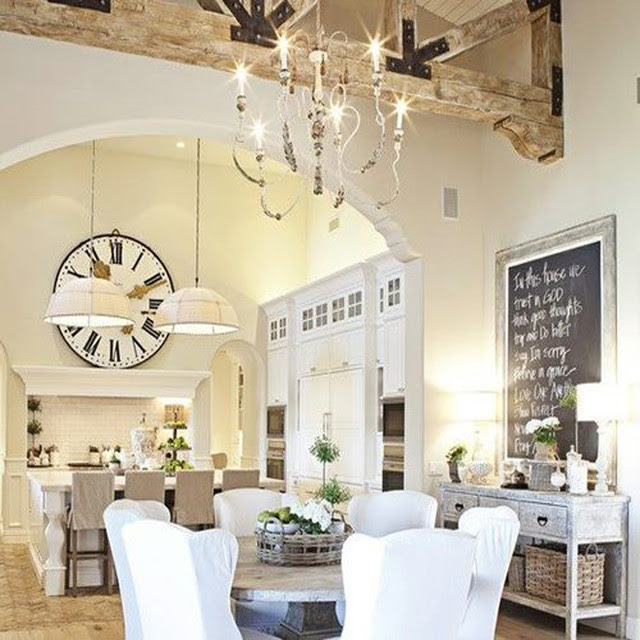 beautiful shabby chic dining room | Best Modern Furniture Design ...