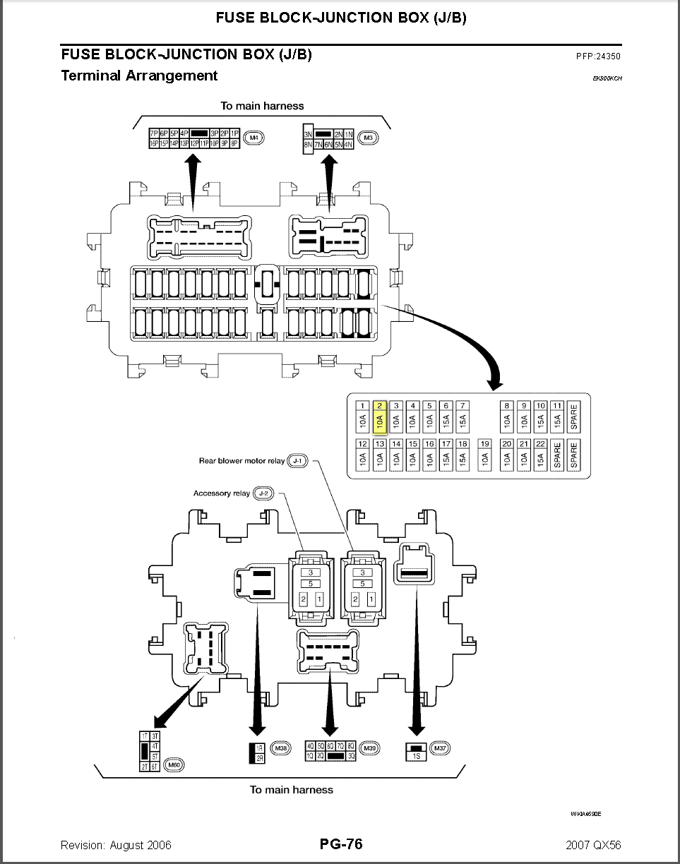 DIAGRAM 1996 Nissan Maxima Fuse Box Diagram Inside Car ...
