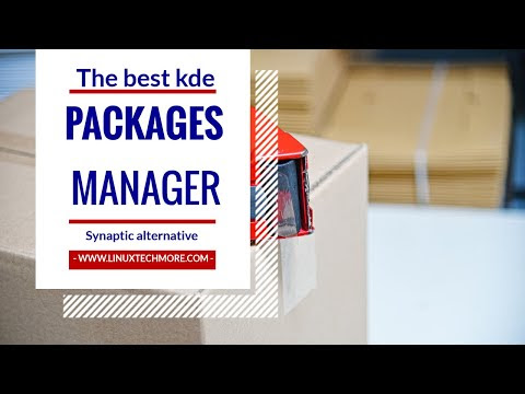 The best Kde package manager that can replace Synaptic