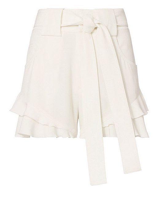 Le Fashion Blog 6 Pairs Of Tie Waist Shorts For The New Season Via Intermix