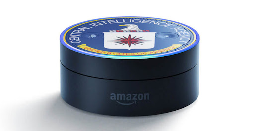 In video, Alexa goes strangely quiet when asked if it's connected to the CIA