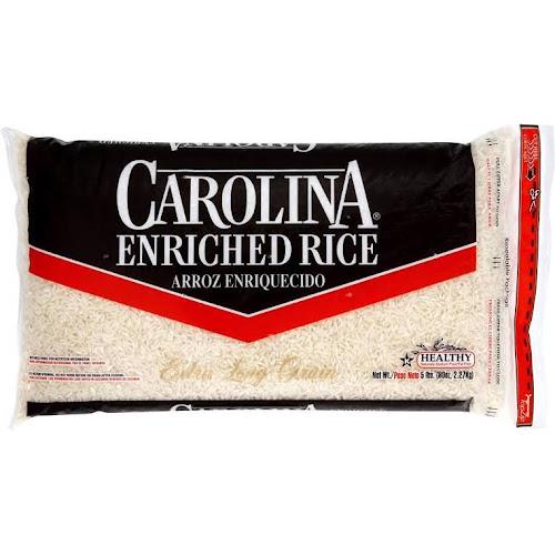 Carolina Enriched Rice, Extra Long Grain - 80 oz bag