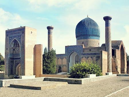 Gur-Emir Mausoleum in Samarkand, Usbekistan