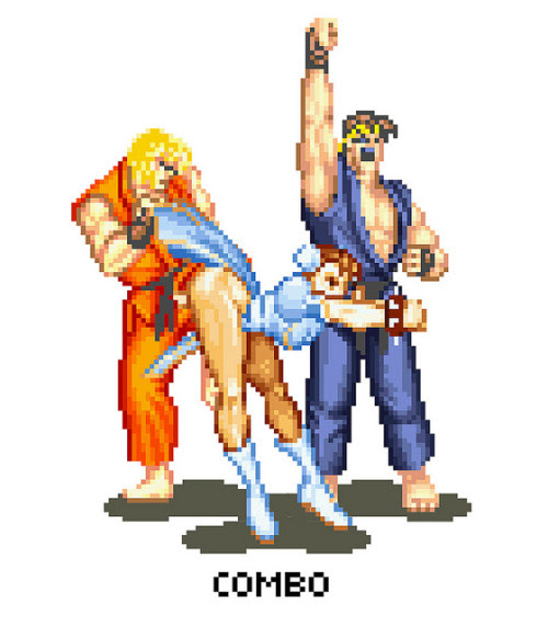 insanelygaming:  Street Fighter Porn - by FantasyBoyTaro