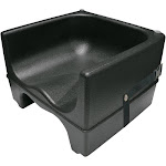 Update International PP-BCS/BK - Dual Booster Chair, 12-3/4""