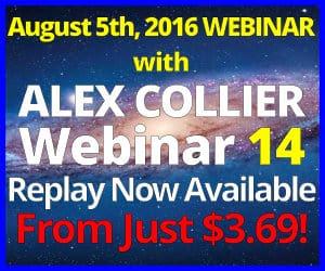 Alex Collier Webinar *Replay*  - August 5, 2016