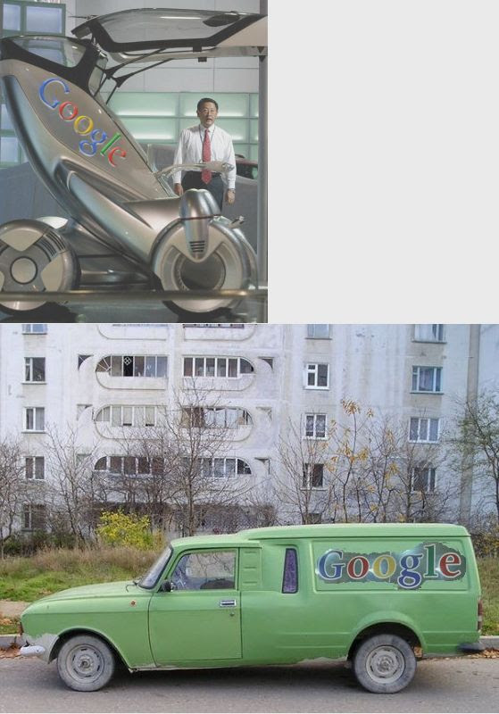 6-Google Green Car in the Third World