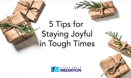 Five Tips for Staying Joyful in Tough Times: A Holiday Survival Guide