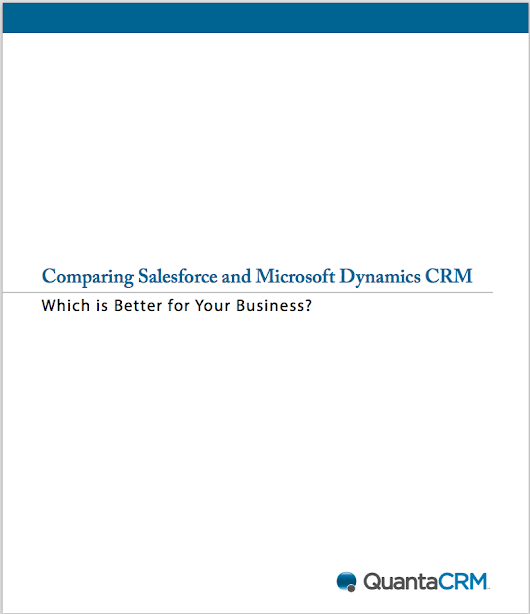 Comparison of Salesforce and Dynamics CRM - White Paper