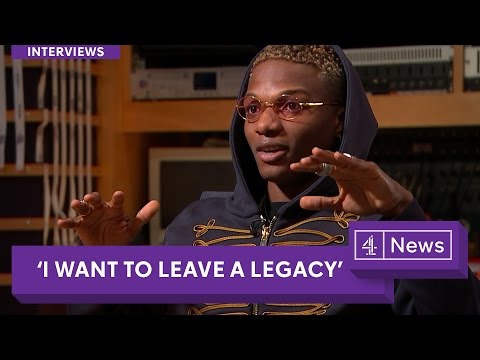 wizkid speaks to channel 4 british tv on style and leaving a legacy