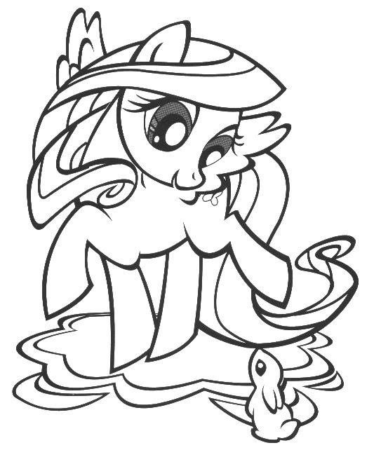 Cute Pony Pagine Da Colorare Immagini Da Colorare Pravreshcom