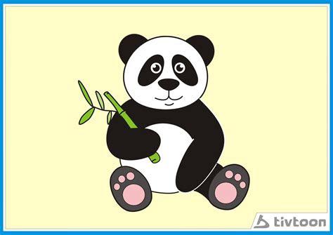 gambar wallpaper panda lucu gambar kartun panda blog