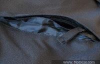 vincos e costuras da jaqueta sbk v6