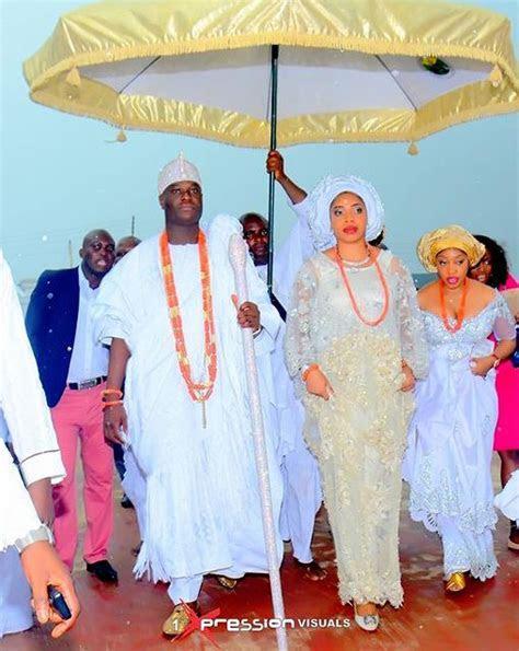 WATCH the Royal Wedding Ceremony between Ooni of Ife