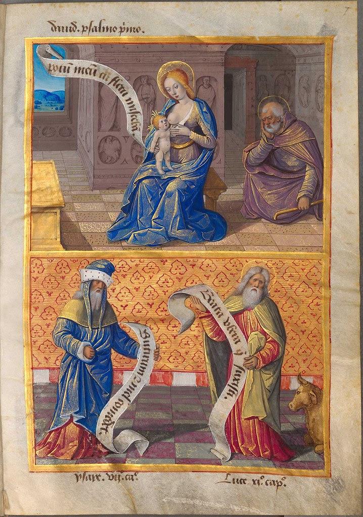 sibyllae et prophetae de Christo Salvatore vaticinantes m