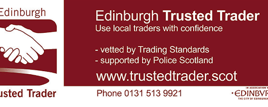 Edinburgh Trusted Trader promotion with Lothian Buses