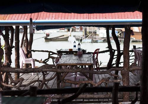 Table at Bang Mud Seafood