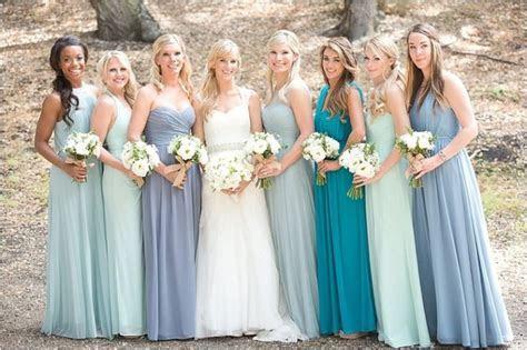 6 Ways to Do Mismatched Bridesmaid Dresses   Wedding