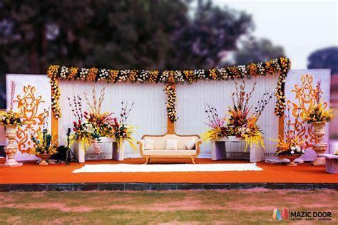 Wedding Stage Design By Mazic Door   Mazic Door