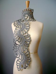 Love it! crochet scarf