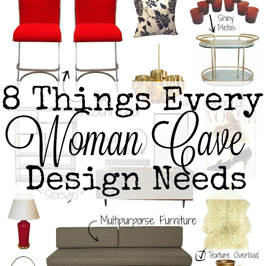 8 Things Every Woman Cave Design Needs - In The New House Designs