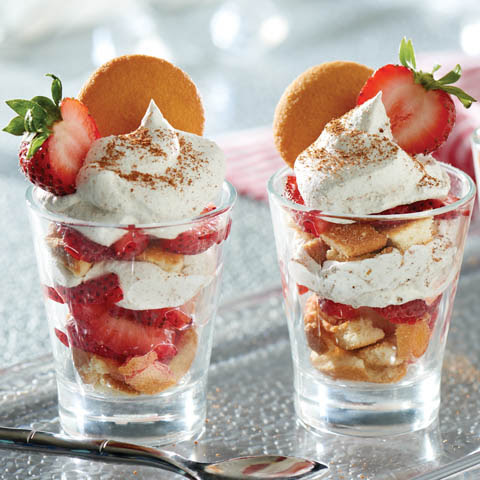 Nilla Strawberry Shortcake With Gingerbread Cream Recipe