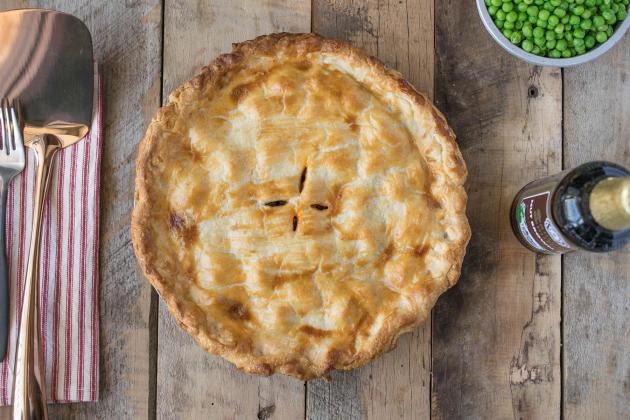 British Steak and Ale Pie - Food Fanatic