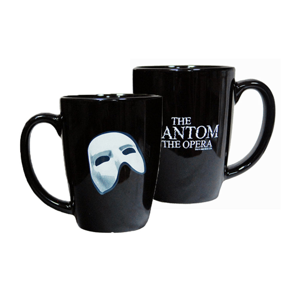 Resultado de imagen de the phantom of the opera mug