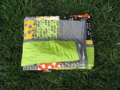 Tucked Quilt Fold (7)