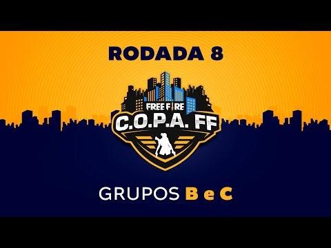 FREE FIRE : C.O.P.A. FF - Rodada 8 - Grupos X e Y