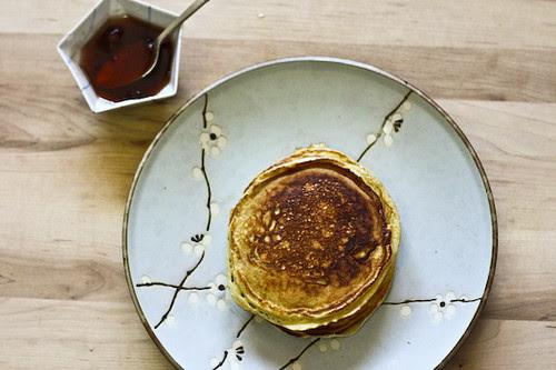Norwegian pancakes above