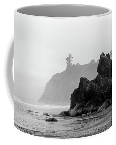 Stacks Of Ruby Beach Coffee Mug