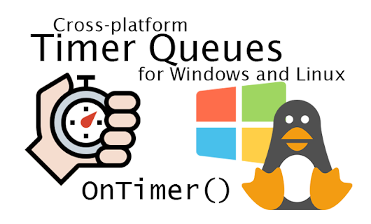 Cross-platform timer queues for Windows and Linux