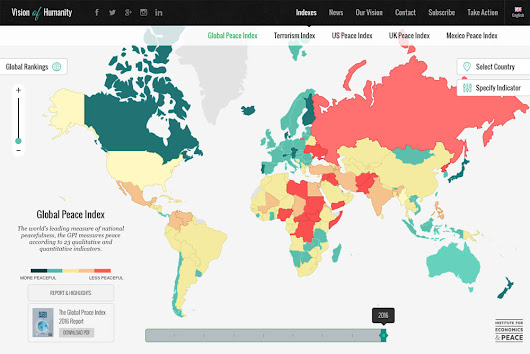 2016 Global Peace Index