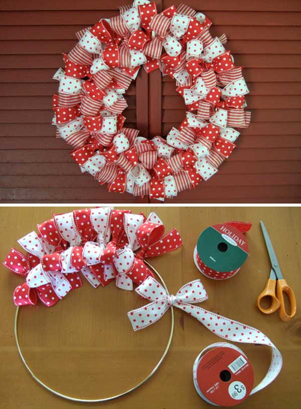 DIY Christmas wreaths tutorials
