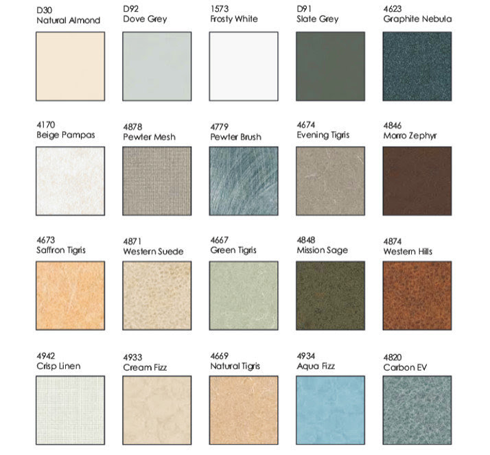 Slab granite countertops wilsonart formica colors