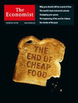 Capa da revista The Economist