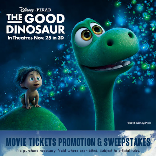 Win Free Tickets To See The Good Dinosaur From Sun-Maid - Beltway Bargain Mom | Washington DC Northern VA Deals and Coupons