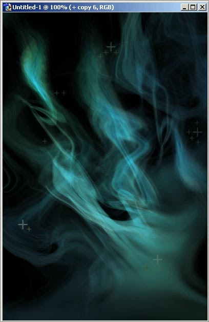 Creating smoke effect from a shape in photoshop