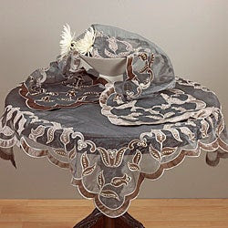 Embroidered and Hand Beaded Table Linens | Overstock.com Shopping