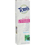 Toms of Maine Antiplaque & Whitening Toothpaste, Peppermint - 5.5 oz tube