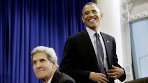 "Secretary of State, John Kerry, and President Obama are ""yucking it up"" after setting up Americans up to be totally defenseless in the face of tyranny by obliterating the Second Amendment."
