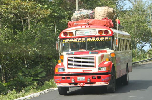 5 Reasons You SHOULD Ride a Chicken Bus